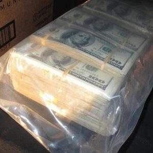 Counterfeit US dollar bills for sale